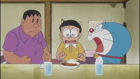 哆啦A梦:大雄吃了一口蛋糕,好吃到爆炸,带火蛋糕店.mp4