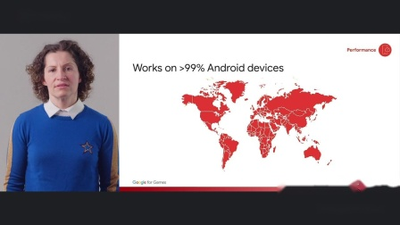 Deliver higher quality games on more devices (Goog