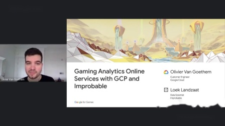 Building gaming analytics online services with Goo