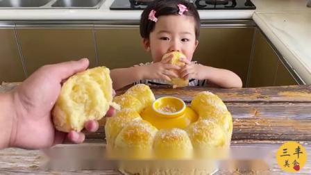 蜂蜜椰蓉面包制作