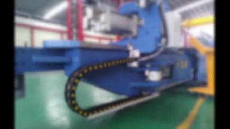 高谱55吨数控拉弯机