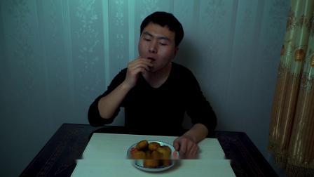小伙想吃甜食,在家中自制——炸油糕