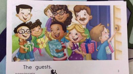 少儿英语启蒙 RAZ分级阅读aa 92 The Birthday Party 生日派对