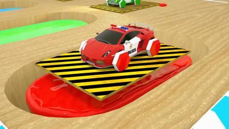 彩色水滴滑梯游戏 认识颜色 汽车 数字 水果 益智幼儿英语启蒙