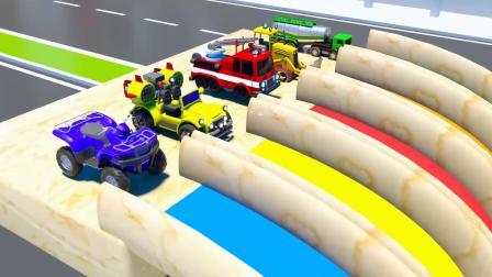 荷花拖拉机游戏 认识颜色 汽车 数字 水果 益智幼儿英语启蒙