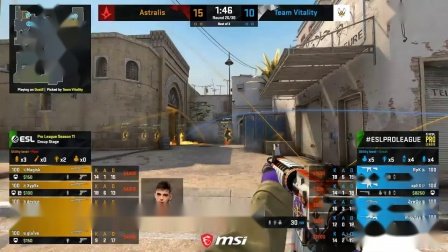 Astralis vs Vitality - ESL Pro League Season 11 -