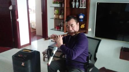 张永纯笛子独奏《一帘幽梦》C调笛做5演奏,袁再彪先生制笛。