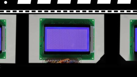 Monochrome LCD Modules / VBG120605-A(BL)