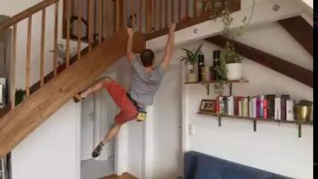 Climbers in Quarantine - Living Room Bouldering.mp4