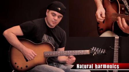在youtube上看到的个人独奏40个吉他技巧!炫爆了!附教学!_超清