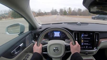 2020 沃尔沃 V60 CC T5 - 北美第一人称驾驶视频