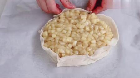 据说比披萨好吃百倍的苹果派你知道怎么做吗?再也不想吃其它面食.mp4