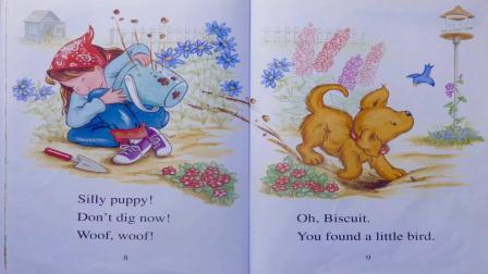 饼干在花园Biscuit in the Garden, read aloud - ReadingLibraryBooks.mp4