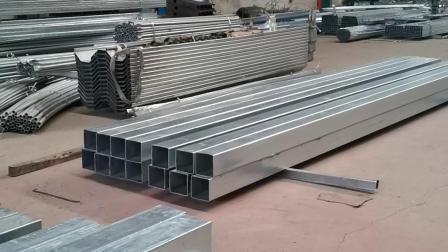 《歌珊温室》温室大棚钢骨架是如何加工出来的?