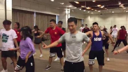567GO团课导师参加泰国AFC亚洲健身大会热舞现场第二弹