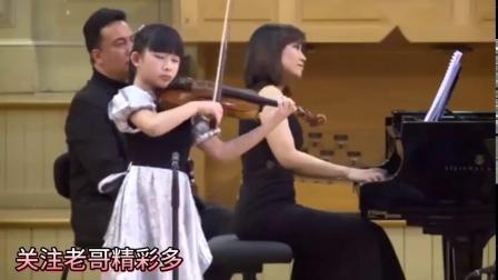 小神童系列,小提琴手蔡美儿的卡门序曲比赛现场下集