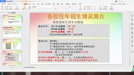 青岛立鑫文化艺术培训学校2020年中考志愿指导分享(一)