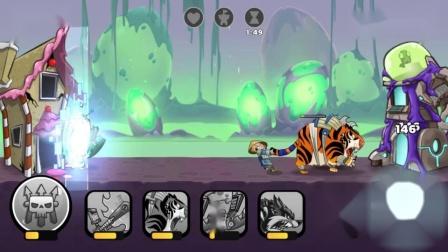征服异界:挑战15-6,跳狼大发神威,越过众人直接破坏机器人城堡.mp4