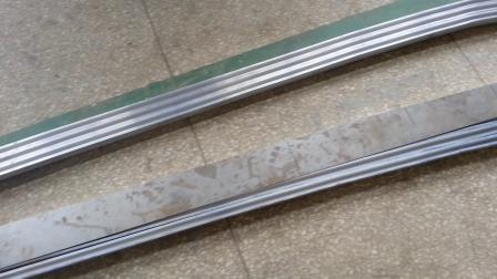 大型客车门板弯曲一次成型 数控滚弯机 型材弯曲机