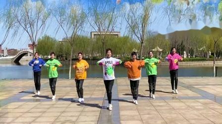 黄骅金都健身队 民族风健身操124