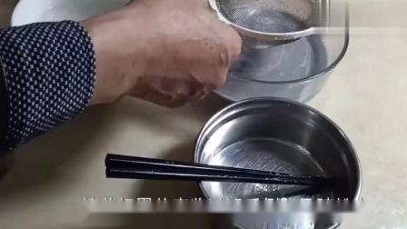 黑芝麻糕,黑芝麻千层糕简单做法,口感浓郁吃起来更香.mp4
