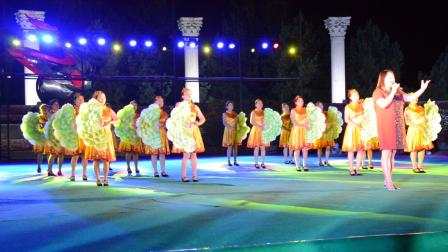 梦飞鱼健身舞队2016.8.25艺术节彩排伴舞-美丽家园