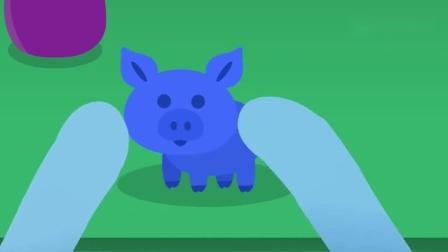 迷你特工队:弗特用橡皮泥捏动物,熊和小猪傻傻分不清.mp4