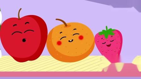 儿歌童谣卡通动画,通过跳舞的水果学习颜色和名称!.mp4