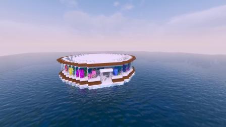 教你造一个超级好看的水族馆!!我的世界建筑教程