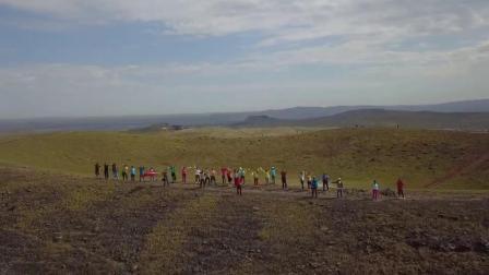 察哈尔火山航拍2