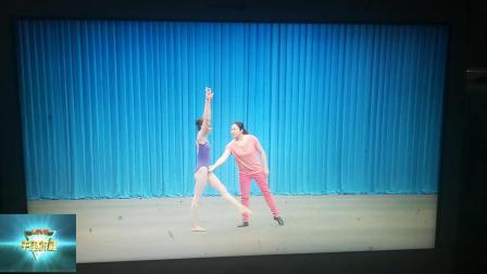 中国舞蹈技术技巧基本功素质能力测评少儿基础训练师资班培训教材之前手翻开法