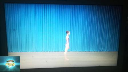 中国舞蹈技术技巧基本功素质能力测评少儿基础训练师资班培训教材之串后软翻,中速