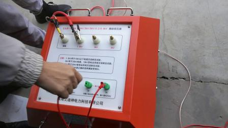35KV电缆耐压试验现场--串联谐振试验装置操作现场EXZ8000