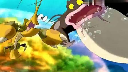 小鲤鱼历险记:得知龙鳞被泡泡抢走后,赖皮蛇愤怒的吃掉了它表弟.mp4