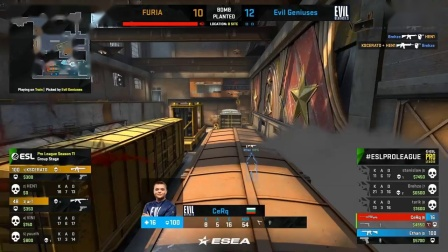EG vs FURIA - ESL Pro League Season 11 - CS -GO-ey