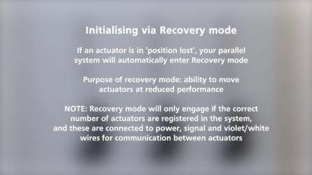 LINAK 力纳克工业系列 -- IC 同步: 如何初始化