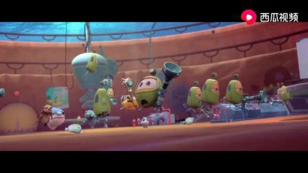 海底总动员:海底大作战,有鲨鱼大哥罩着,敌人不值一提.mp4