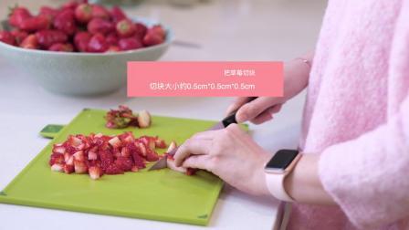 小陈故事草莓酱--春天是草莓收获的季节,草莓除了吃,多余的草莓还可以制作草莓酱