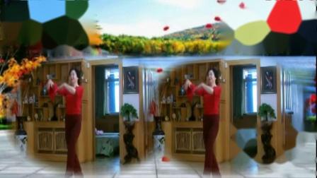 甘肃天水市金凤飞舞舞蹈队原创舞蹈,桃花开满三月天,正面演示。