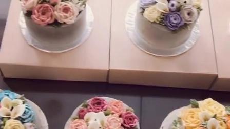 杭州滨江蛋糕培训 杭州酷德韩式裱花蛋糕培训 杭州 蛋糕培训学校