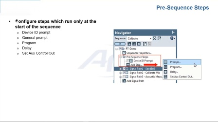APx500 生产测试功能实现