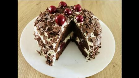 Black Forest (Schwarzwälder) Cake Recipe - Episode 427 - Baking with Eda