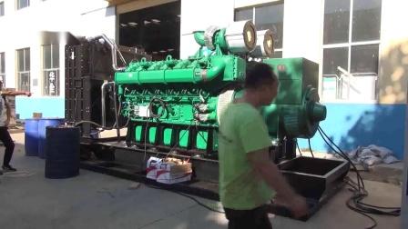 桩机钻桩用柴油发电机组带负载检测,适用于大功率设备.mp4