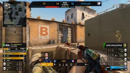 EPIC GAME!! - Virtus.Pro vs OG - ESL Pro League Se