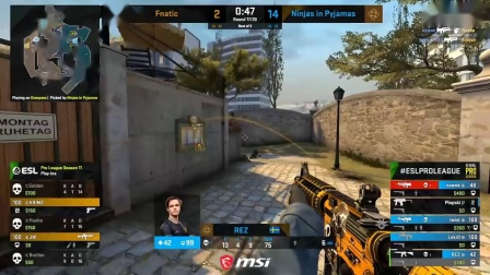CRAZY GAME!! - Fnatic vs NiP - ESL Pro League Seas