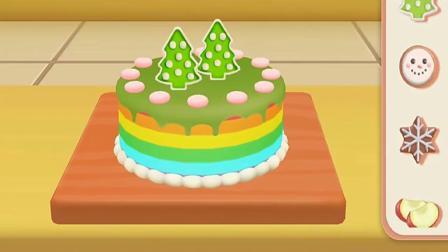 超级飞侠-乐迪蛋糕店,乐迪为小青做好吃的圣诞蛋糕.mp4