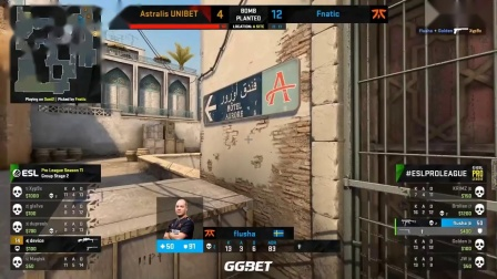 Astralis vs Fnatic  ESL Pro League S11