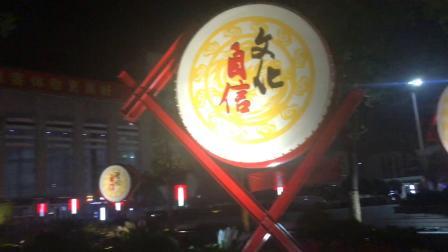 合肥火车站南广场夜景