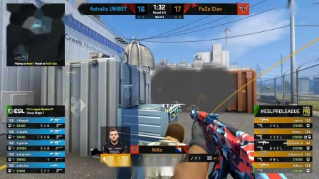 FaZe vs Astralis - ESL Pro League Season 11 - CS -