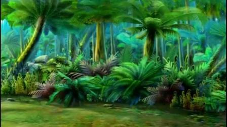 【蓝猫淘气三千问恐龙时代】蓝猫淘气去找菲菲的路上又遇到恐龙了.mp4